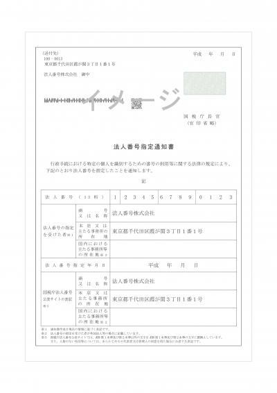 法人番号」が通知・公表されます - 栃木県矢板市公式ウェブサイト